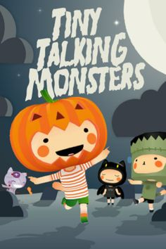 Tiny Talking Monsters ($0.99) - Interact with unforgettable characters  - Switch between them at any time   - Interact with each other using a variety of gestures   - Use the 'magic' button for a different reaction each time.   - Speak to them and have them repeat your words in their own unique voices .   - Watch them perform a variety of entertaining, playful and hilarious actions – like jumping, kissing, throwing, hiding, running away and more.