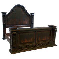 La Riata 5 Bed | Jorge Kurczyn Spanish Colonial Furniture
