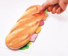 sliced-eat sticky notes by marsmers in the designboom shop