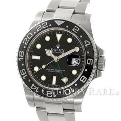 ロレックス GMTマスター 2 スティックダイヤル V番 ルーレット 116710LN ROLEX 腕時計