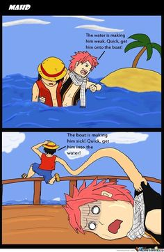 This is why there will never be a Fairy Tail & One Piece crossover...