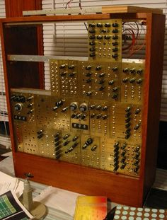 Steampunk Analog Synthesizer