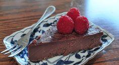 raw chocolate cake or icing!