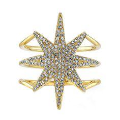 Starburst Ring in 14k Yellow Gold $800.00 ----------------------------------------- www.jenkdesignsny.com instagram: @jenkpix