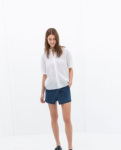 Image 3 of SKORT WITH POCKET from Zara