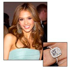 Jessica Alba Engagement Ring