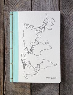 Personalized Travel Journal- Choose Your Own Binding-As Featured in Do It Yourself Magazine