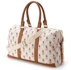 pineapple overnight bag