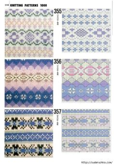 17 Best ideas about Knit Stranded Fair Isle Knitting Patterns, Knitting Charts, Knitting Designs, Knitting Stitches, Knit Patterns, Stitch Patterns, Knitting Projects, Motif Fair Isle, Fair Isle Chart