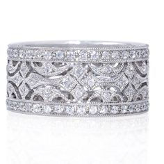 Could I get away with this as a wedding band?! Hmm...