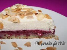 Recette de Gâteau entremets framboises-mascarpone et amandes : la recette facile