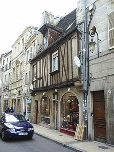 Dijon, France...my home away from home in 1979.  The architecture is so beautiful.