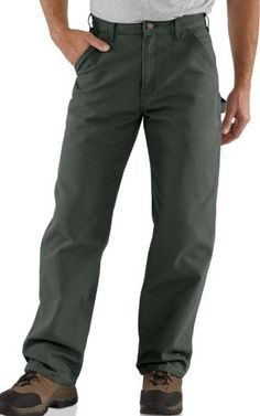 Carhartt Washed Duck Work Dungaree Mens Work Pants 73a3b032085