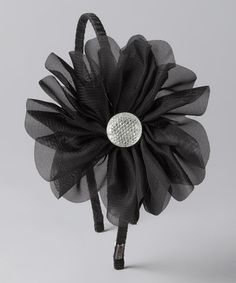 Take a look at this Black Wanda Headband by Sydney Summer & Pink Pewter on #zulily today!