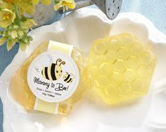 """""""Mommy To Bee"""" Honey-Scented Honeycomb Soap"""