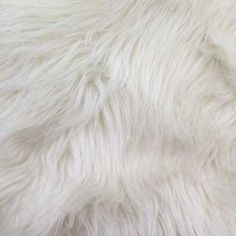 Our Long Pile Shaggy Fur is a luxurious animal-friendly faux fur. Made with synthetic fibers, this fabric is a great alternative to real animal fur for a fraction of the cost, with an authentic, cuddl