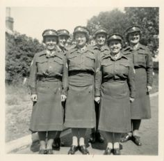 1940: Royal Women's Army Corps summer training camp