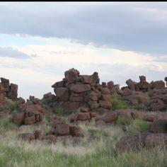 Giant rocks, Namibia