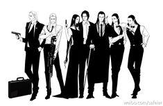 AU Thranduil, Legolas, Arwen, Aragorn, Elrond, Elladan and Elrohir The Family!