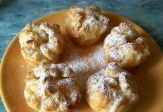 Muffinsütőben sült túrós kosárka -Túrós táska 2.