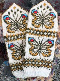 Knitted Mittens Pattern, Knit Mittens, Knitted Gloves, Knitting Socks, Knitting Patterns, Crochet Patterns, Hat Patterns, Loom Knitting, Free Knitting