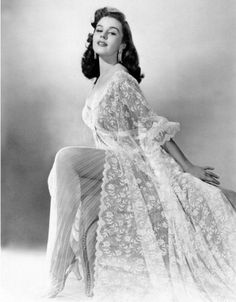 Elaine Stewart  MGM starlet during the 1950s