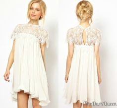 7. White Eyelet Dress - 7 Back to School Dresses That Will Make a ...