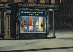 Edward Hopper.  Drug Store.  1927