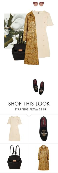 """""""First Impressions Last"""" by nediam ❤ liked on Polyvore featuring Gucci, Dolce&Gabbana, Alexander Wang, Prada, Marni, Elegant, backpack and coat"""