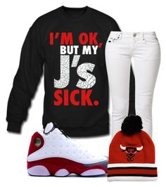 My Js Sick by ayooitssdeedee ❤ liked on Polyvore