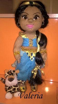 Купить кукла Жасмин - голубой, кукла ручной работы, кукла, кукла в подарок, кукла интерьерная