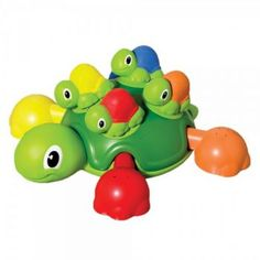 Turtle tots bath time fun is multiple bath time fun in one pack Mummy turtle floats in the water with her turtle tots riding on her back The turtle tots are fun Toddler Crafts, Toddler Toys, Kids Toys, Turtle Tots, Educational Baby Toys, Baby Bath Toys, Buy Toys, Preschool Toys, Toys Online