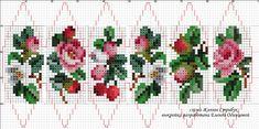 Gallery.ru / Фото #3 - новогодний шарик - pustelga Cross Stitch Cards, Cross Stitch Rose, Cross Stitch Borders, Crochet Borders, Cross Stitch Flowers, Cross Stitch Designs, Cross Stitching, Cross Stitch Embroidery, Hand Embroidery