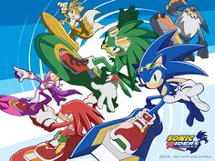 Sonic Riders blazes a trail of crisp colors, a feeling of motion, and lovely design.