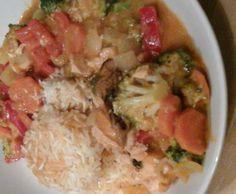 Rezept Thailändisches Fisch Curry von michelsb11 - Rezept der Kategorie Hauptgerichte mit Fisch & Meeresfrüchten