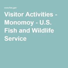Visitor Activities - Monomoy - U.S. Fish and Wildlife Service