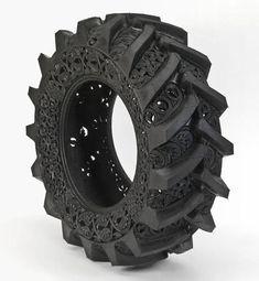 Wim Delvoye, Reciclando Neumáticos