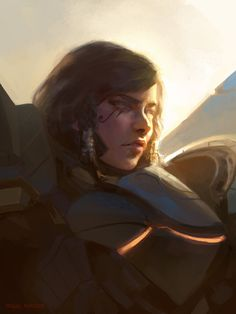 Pharah by Miguel Mercado | Overwatch