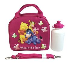 Winnie The Pooh Great Quality Lunch Bag with Adjustable Shoulder Strap *** Continue to the product at the image link.