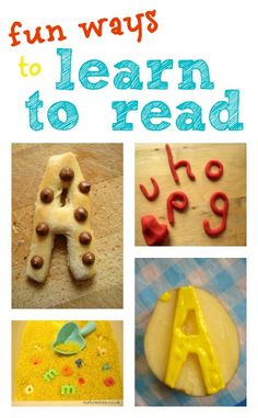 One of the first things most children learn to read is their own name. It can give them such a feeling of pride and excitement to recognize their name. Here are some playful ideas you can use to help them have fun learning to spot the letters that are extra special to them.
