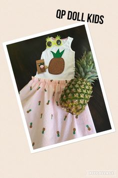 A personal favorite from my Etsy shop https://www.etsy.com/listing/386766908/the-sparkly-pineapple-dress