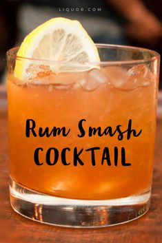 This #cocktail is a smashing hit. You're going to want to mix one or two of these.