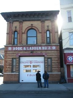 love old firehouses