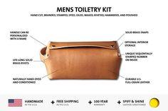 Toiletry Bag Mens Toiletry Bag Dopp Kit Mens Dopp Kit
