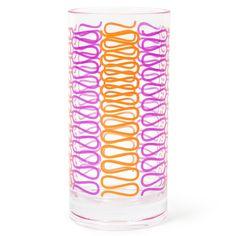 Melamine Loop Highball Glass from Jonathan Adler