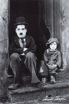 "Charlie Chaplin ""The Kid"" (1925) / useless fact of the day. The eponymous ""kid"" was played by Jackie Coogan. Who later portrayed Uncle Fester in ""The Addams Family"" TV series."