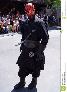 Photo about A Darth Maul during the Legends of the Force Celebrity Motorcade at Walt Disney World s Hollywood Studios during Star Wars Weekends Image of film, disneyworld, hollywood - 43814912 Image Photography, Editorial Photography, Star Wars Day, Darth Maul, Hollywood Studios, Walt Disney World, Superhero, Stars, Film