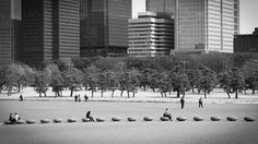 The Imperial Palace Plaza at Tokyo