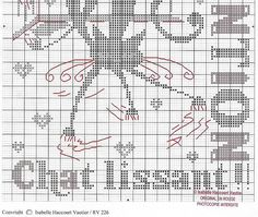 Point de croix*m@* Cross stitch chat lissant 3