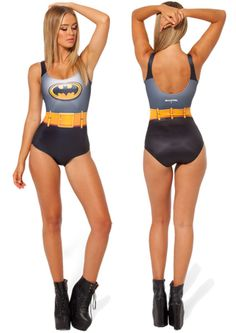 Batman Cape Swimsuit - awesome! Re-pinned from @annaj3